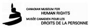 Musee des droits de la persone